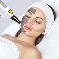 Carbon laser skin rejuvenation treatment